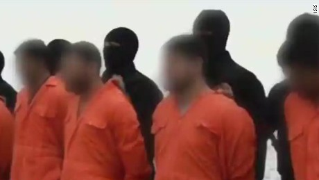 What is ISIS trying to achieve with massacre videos?