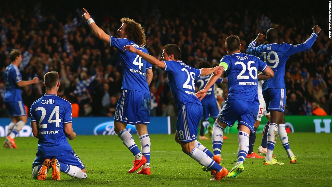 The teams met in the Champions League quarterfinals last season, Chelsea going through on away goals thanks to an 87th minute winner from Senegal striker Demba Ba. In the scenes of celebration that followed, Mourinho sprinted down the touchline to join the celebrations and offer some tactical advice.
