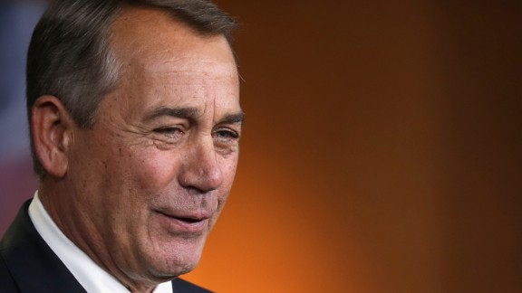 WASHINGTON, DC - FEBRUARY 12: Speaker of the House John Boehner (R-OH) holds his weekly news conference in the Capitol Visitors Center at the U.S. Captiol February 12, 2015 in Washington, DC. Boehner said that President Barack Obama