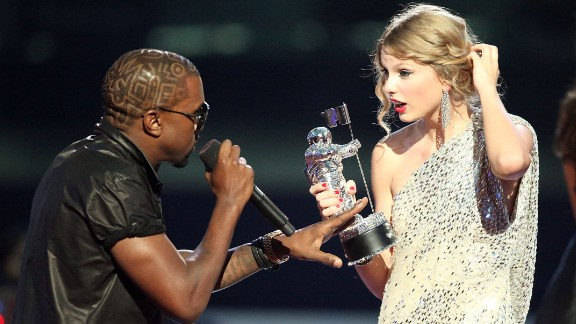 Kanye West and Taylor Swift had one of the greatest celeb feuds of all time. The rapper famously grabbed the singer
