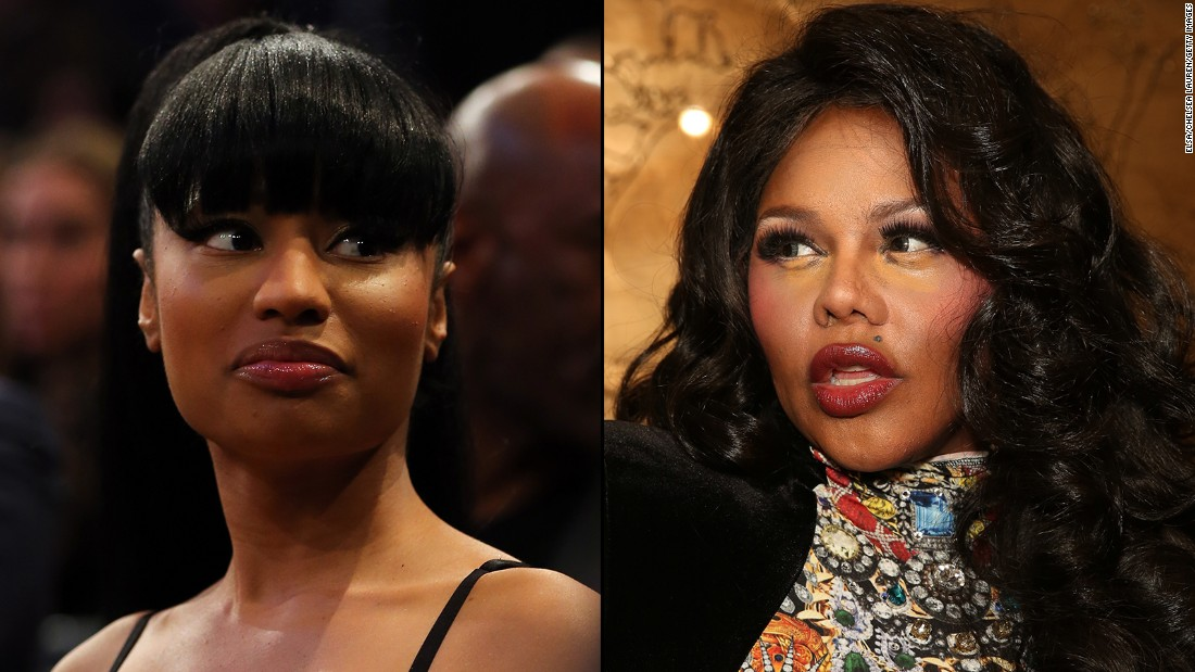 It appears that rapper Lil' Kim has not taken too kindly to what she views as Nicki Minaj's lack of respect and similar style with the colored wigs and sexually explicit lyrics. The pair have traded insults all over the media.
