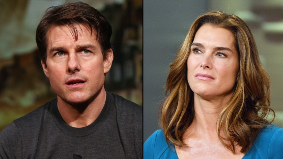 Tom Cruise got on Brooke Shields