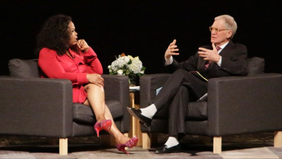 Oprah Winfrey was reportedly annoyed by David Letterman