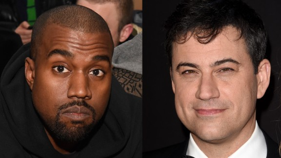 Kanye West gave Jimmy Kimmel the rap feud he's always wanted. After Kimmel poked fun at West's 2013 interview with the BBC -- in which the entertainer called himself the No. 1 rock star on the planet -- West went to Twitter to air his profane grievances (in all caps, of course). The two later made amends with a televised sit-down.
