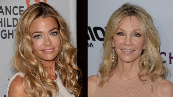 Onetime friends Denise Richards and Heather Locklear hit a major impasse after the former started dating the latter