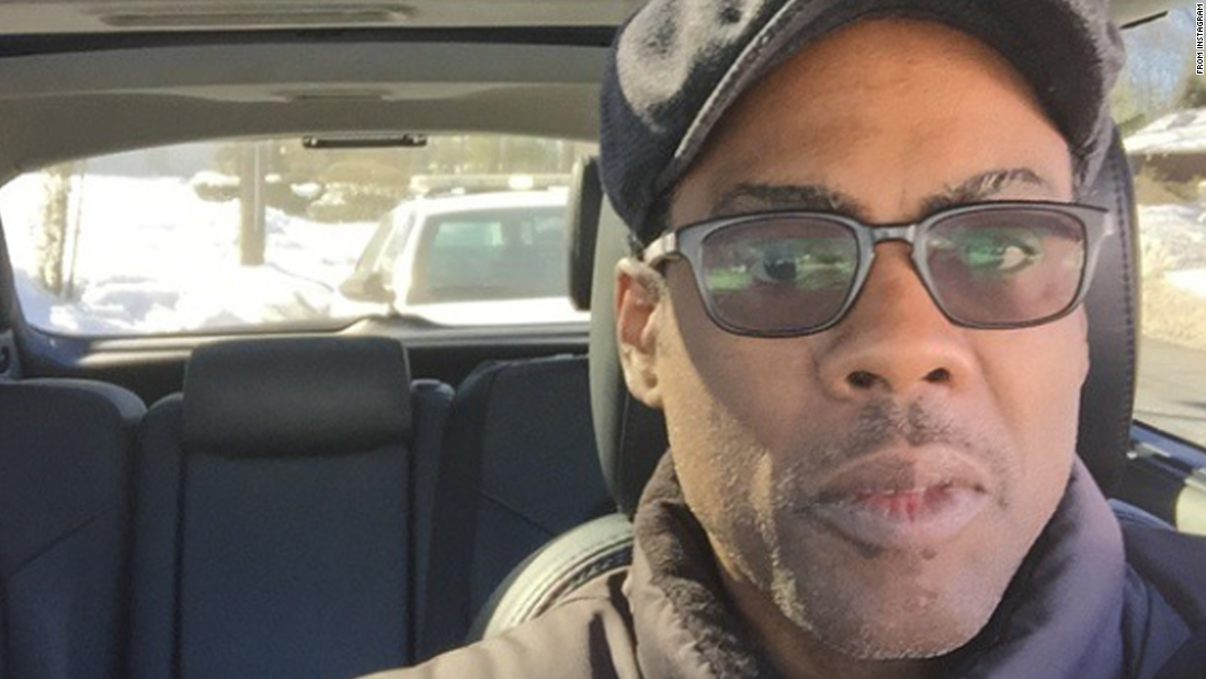 "Another former ""Saturday Night Live"" star, Chris Rock, posted this selfie on Friday, February 13, a couple of days before appearing on the anniversary show. ""Just got pulled over by the cops wish me luck,"" <a href=""http://instagram.com/p/zC_LBSimwy/?modal=true"" target=""_blank"">he said on Instagram.</a>"