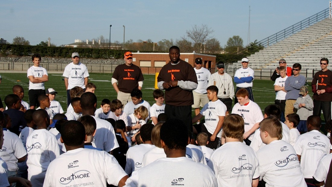 One More Foundation Football Clinic