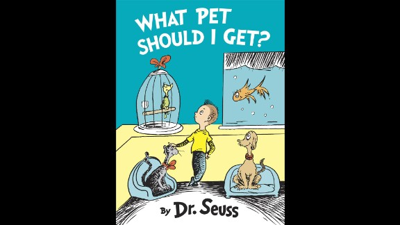 """""""What Pet Should I Get?"""", the first new, original book by Dr. Seuss in 25 years, was published in July 2015. Its first printing was increased from 500,000 to 1 million. The author"""
