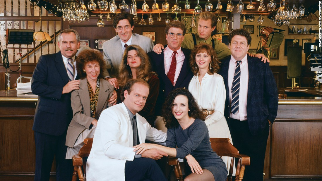 """Cheers"" is considered one of the greatest comedy series and lasted an incredible 11 seasons."