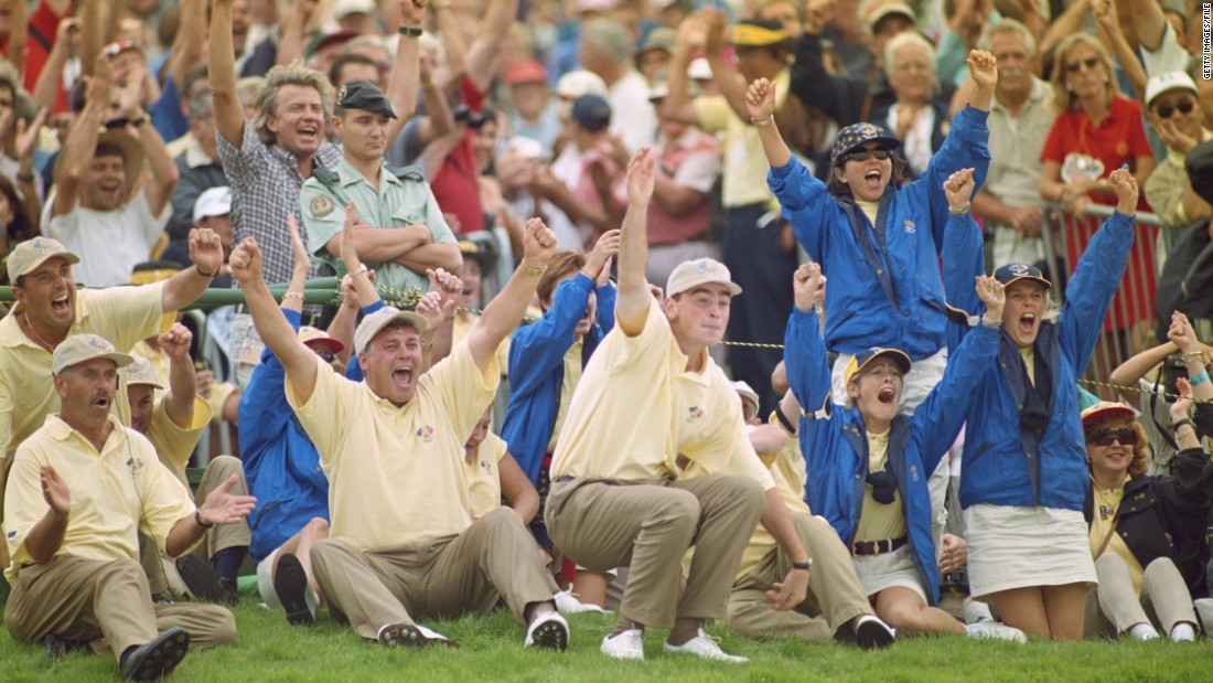 Clarke's first Ryder Cup appearance came in 1997 when Europe defeated the United States by a score of 14½ to 13½ at Valderrama in Spain under the captaincy of the late, great Seve Ballesteros.