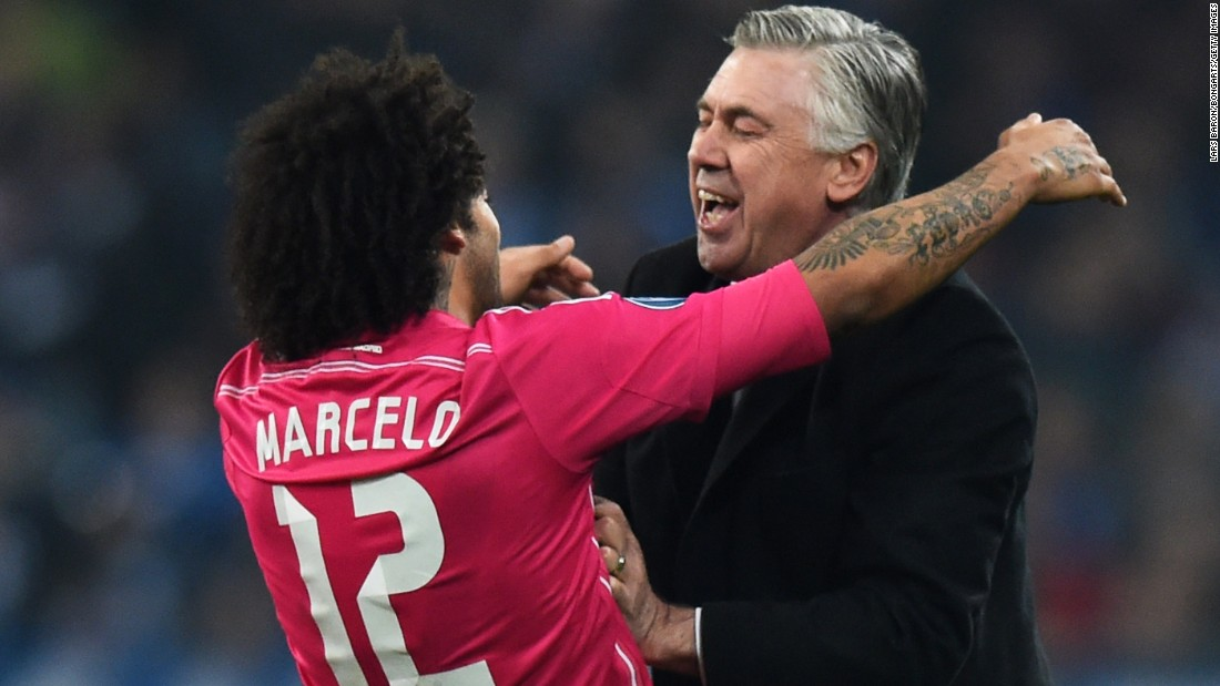Marcelo settled the match -- and probably the tie -- when he sent a rocket into the top corner late in the second half.