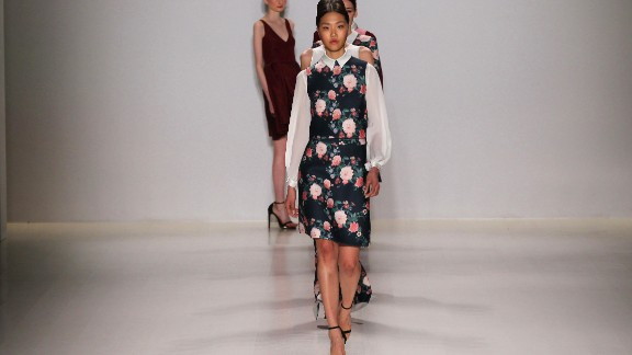 Erin Fetherston displayed ladylike charm for fall.
