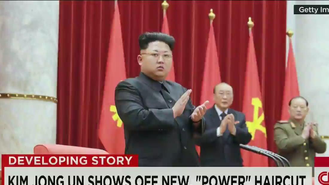 Kim Jong Uns New Power Haircut Cnn Video
