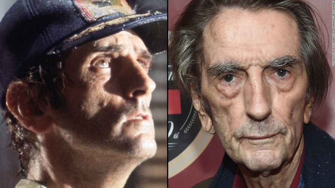 "Veteran character actor Harry Dean Stanton was one of the alien's first victims in the original movie. He has since appeared in dozens of films, including ""Repo Man,"" ""Pretty in Pink,"" ""Paris, Texas,"" ""Twister"" and ""The Green Mile."" He also had a cameo in 2012's ""The Avengers."""