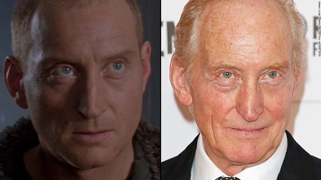 "British actor Charles Dance played a doomed penal-colony doctor in ""Alien 3."" He is probably best known for his role as the ruthless lord Tywin Lannister in HBO's ""Game of Thrones."""