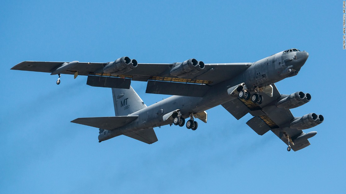 "A 53-year-old Stratofortress nicknamed ""Ghost Rider"" takes off from Davis-Monthan Air Force Base in Arizona, bound for Louisiana, on February 13 after seven years in long-term storage. After upgrades are completed next year, Ghost Rider will be the first B-52 bomber to be returned to service from the so-called Boneyard outside Tucson."