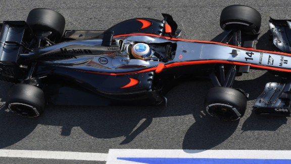 Two-time world champion Fernando Alonso was able to get in some valuable laps for his new team McLaren-Honda which has encountered problems in the early season testing.