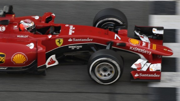 Kimi Raikkonen also showed impressive pace in the 2015 Ferrari as the Prancing Horse looks to build on a promising start to the season in testing.