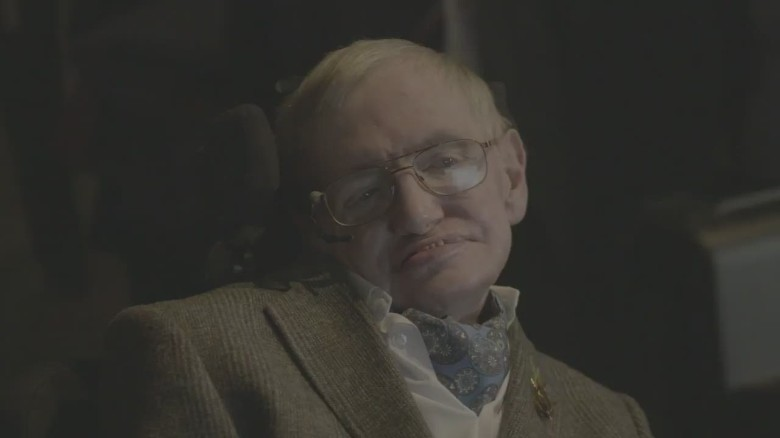 Stephen Hawking happy to lend Redmayne his voice