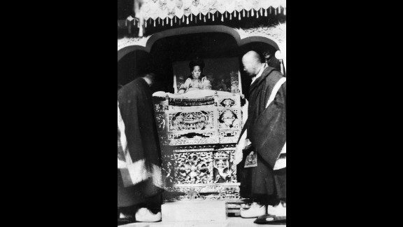 The Dalai Lama's enthronement ceremony took place on February 22, 1940, in Lhasa, Tibet. He was renamed Jetsun Jamphel Ngawang Lobsang Yeshe Tenzin Gyatso (Holy Lord, Gentle Glory, Compassionate, Defender of the Faith, Ocean of Wisdom).