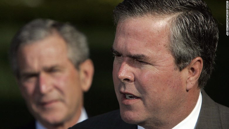 Jeb and George W.: Comparing the brothers Bush