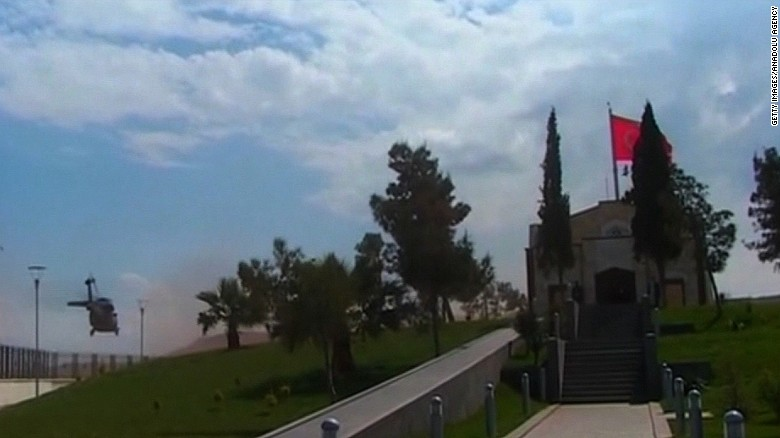 Turkey evacuates Suleyman Shah tomb in Syria