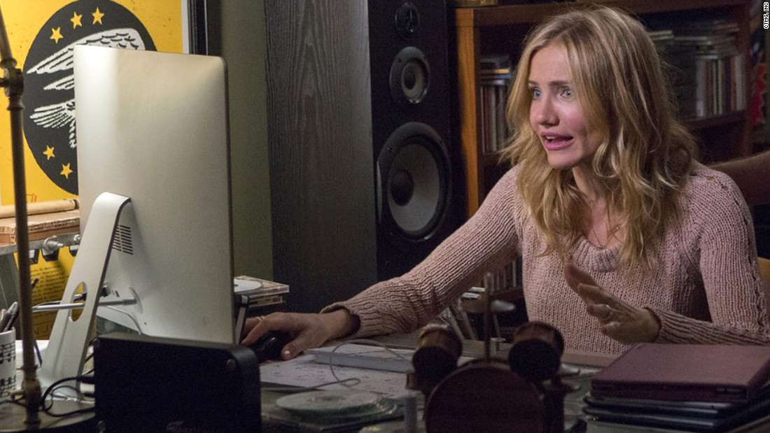 "Cameron Diaz's performances in ""Sex Tape,"" pictured, and ""The Other Woman"" secured her Razzie for worst actress."