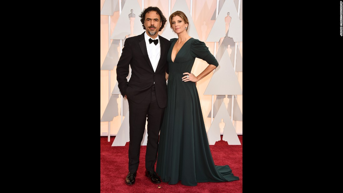 Alejandro Gonzalez Inarritu and his wife, Maria Eladia Hagerman