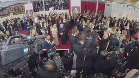 The Oscars: The red carpet in 60 seconds