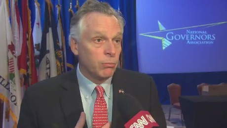 McAuliffe: Governors need DHS funded