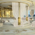 la belle superyacht master bedroom