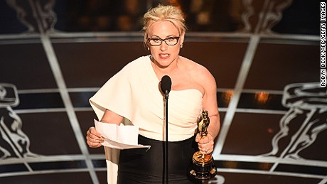 Patricia Arquette's comments in favor of equal pay have galvanized Democrats, including Hillary Clinton and Labor Secretary Tom Perez.