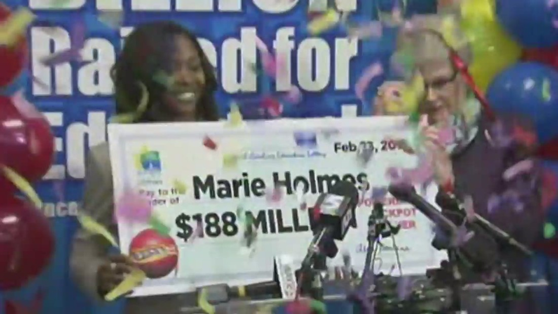She just won the $188M Powerball jackpot
