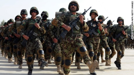 The Afghan National Army's military operation killed 100 insurgents and wounded 35 others.