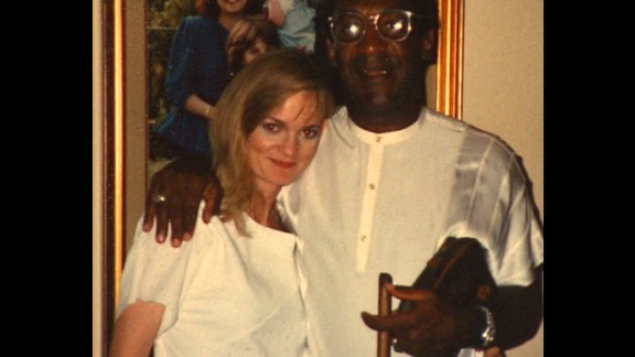 Heidi Thomas says this picture was taken when she visited Cosby in St. Louis.