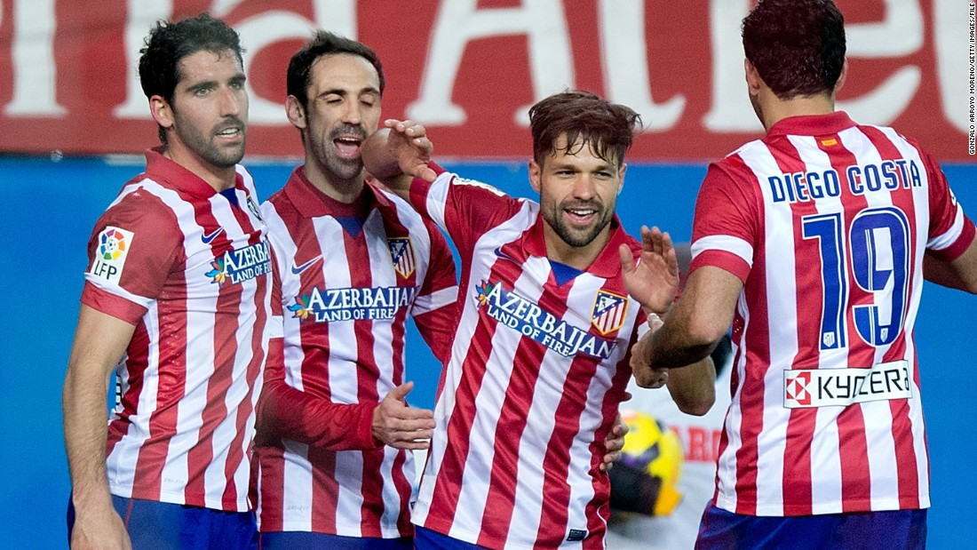 "Atletico Madrid has taken sponsorship to a new level, having a country sponsor their shirts. The slogan reads ""Azerbaijan: Land of Fire,"" referencing the oil rich Eastern European nation. Azerbaijan also sponsors second-tier English club Sheffield Wednesday."