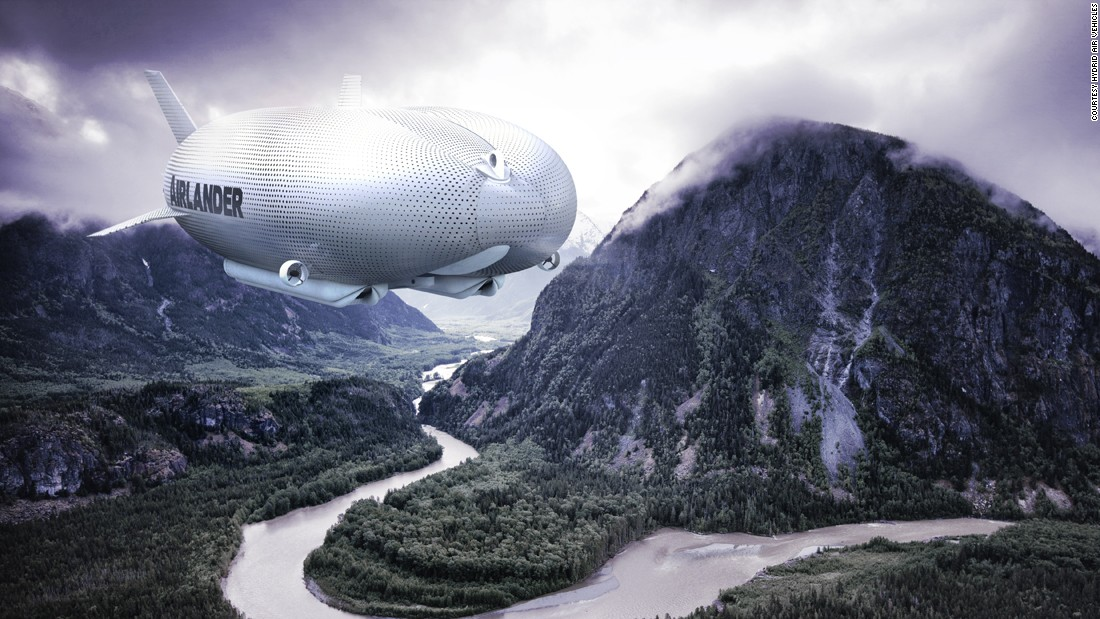 The Airlander 10 is a hybrid airship designed by UK-based firm, Hybrid Air Vehicles.