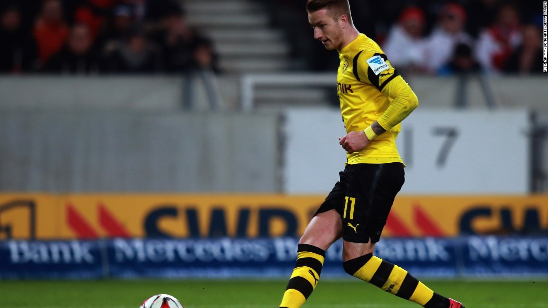 Marco Reus leveled for a rejuvenated Dortmund before the 20th minute.