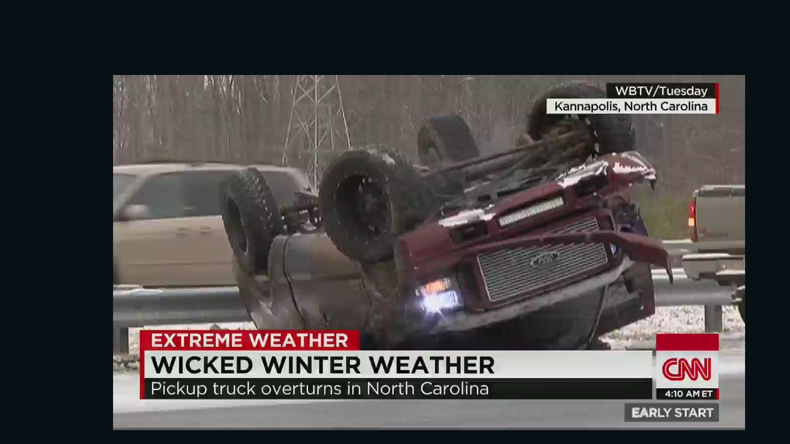 South gets hit with another winter storm - CNN