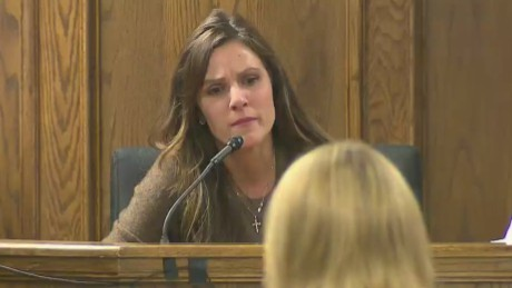 'American Sniper' widow's gripping testimony