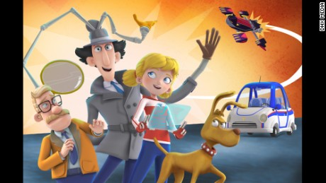 Inspector Gadget, Penny and Brain the dog will return, thanks to Netflix.
