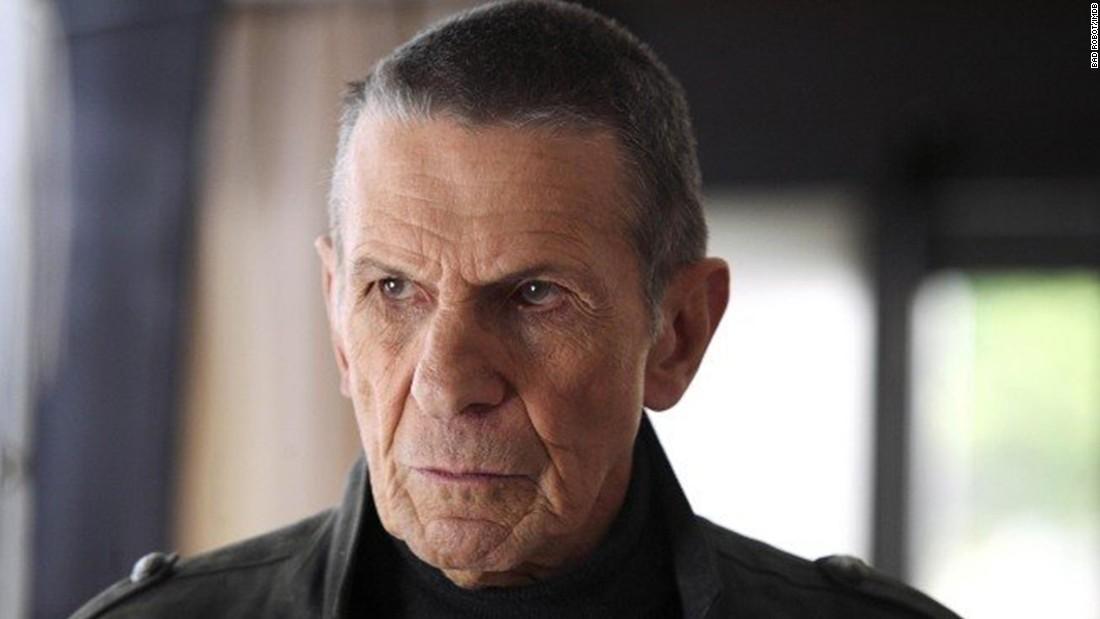That necessary. Leonard nimoy as spock