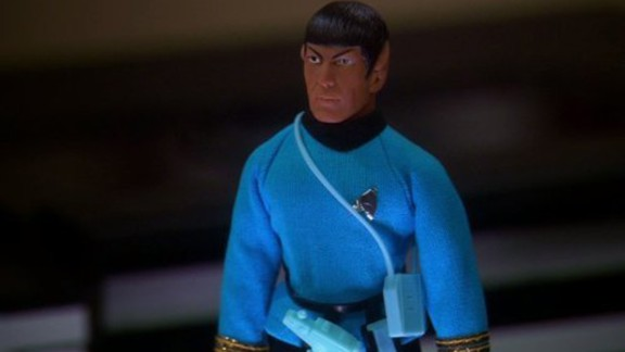 """Nimoy appeared on """"The Big Bang Theory"""" ... sort of. He provided the voice for an action figure of Spock owned by Sheldon Cooper (Jim Parsons)."""