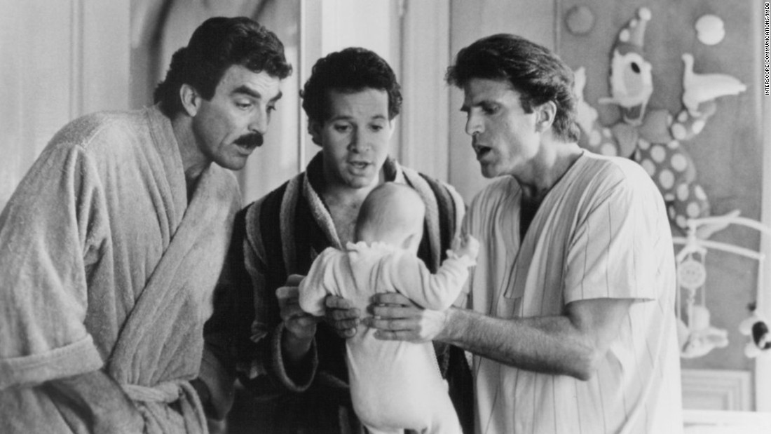 "Nimoy was also a successful director. He helmed two ""Star Trek"" films as well as ""<a href=""http://boxofficemojo.com/yearly/chart/?yr=1987&p=.htm"" target=""_blank"">Three Men and a Baby</a>,"" the No. 1 box-office hit of 1987. Tom Selleck, from left, Steve Guttenberg and Ted Danson starred."