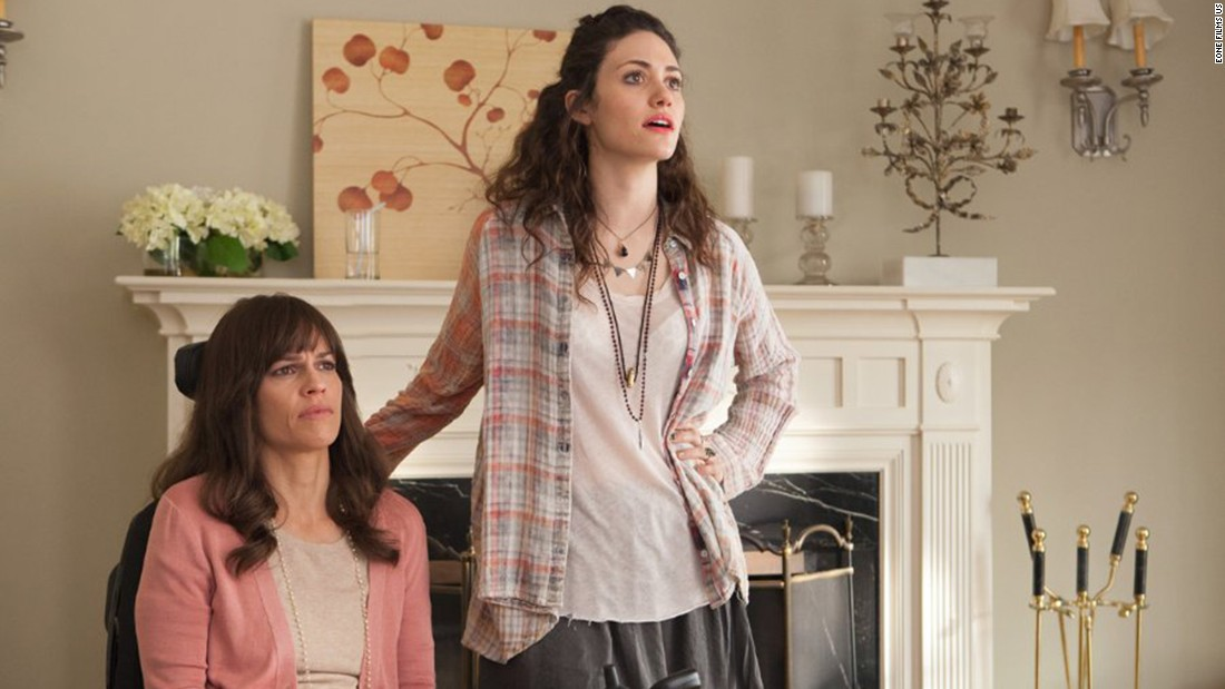 "<strong>""You're Not You"" (2014) : </strong>Academy Award winner Hilary Swank, left, and Emmy Rossum star in this drama about a pianist with ALS and her caregiver. <strong>(Netflix) </strong>"