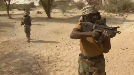 Nigerian Special Forces modelled on the Navy Seals
