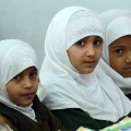 Defining Moments Yemeni schoolgirls