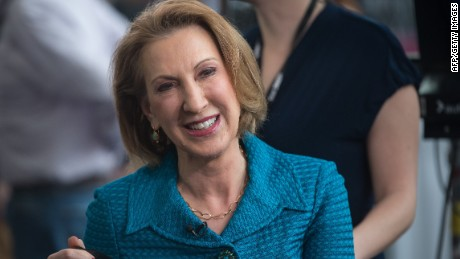 Who is Carly Fiorina?