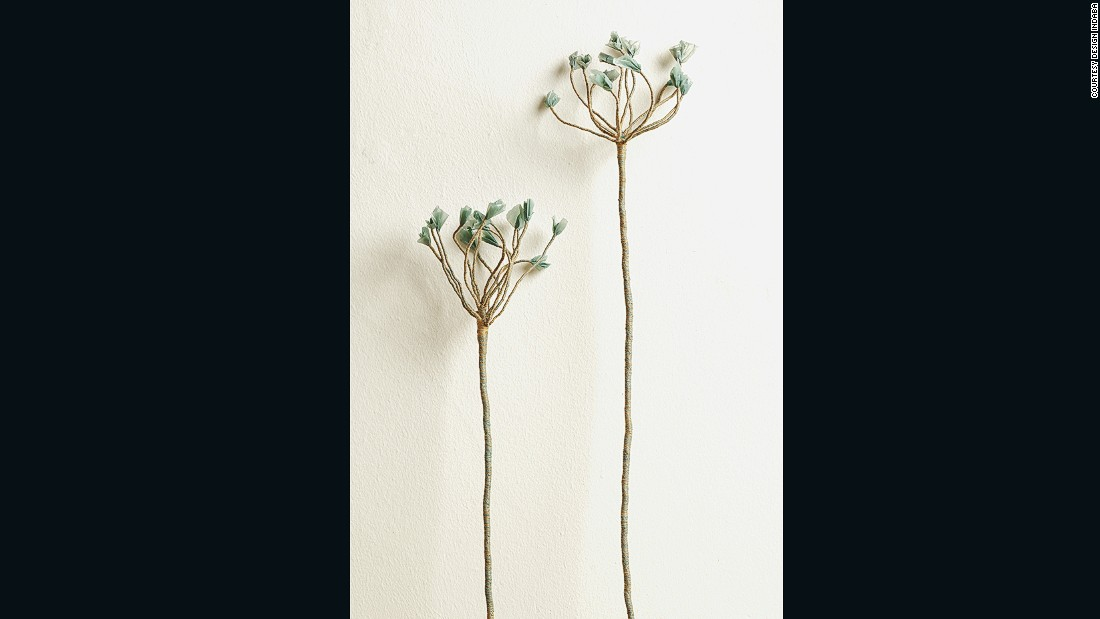 Young design student Amy Rusch was invited to showcase her botanical sculpture after the Design Indaba team sent out a call for submissions on their website.