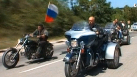 'Night Wolves' motorcycle gang: We will die for Putin